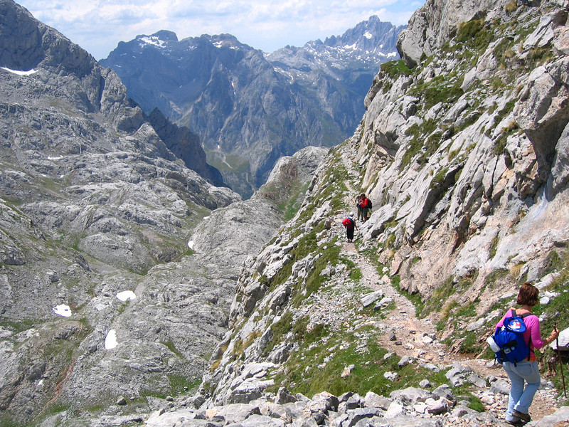 Collado Jermoso, en el corazón de Picos de Europa