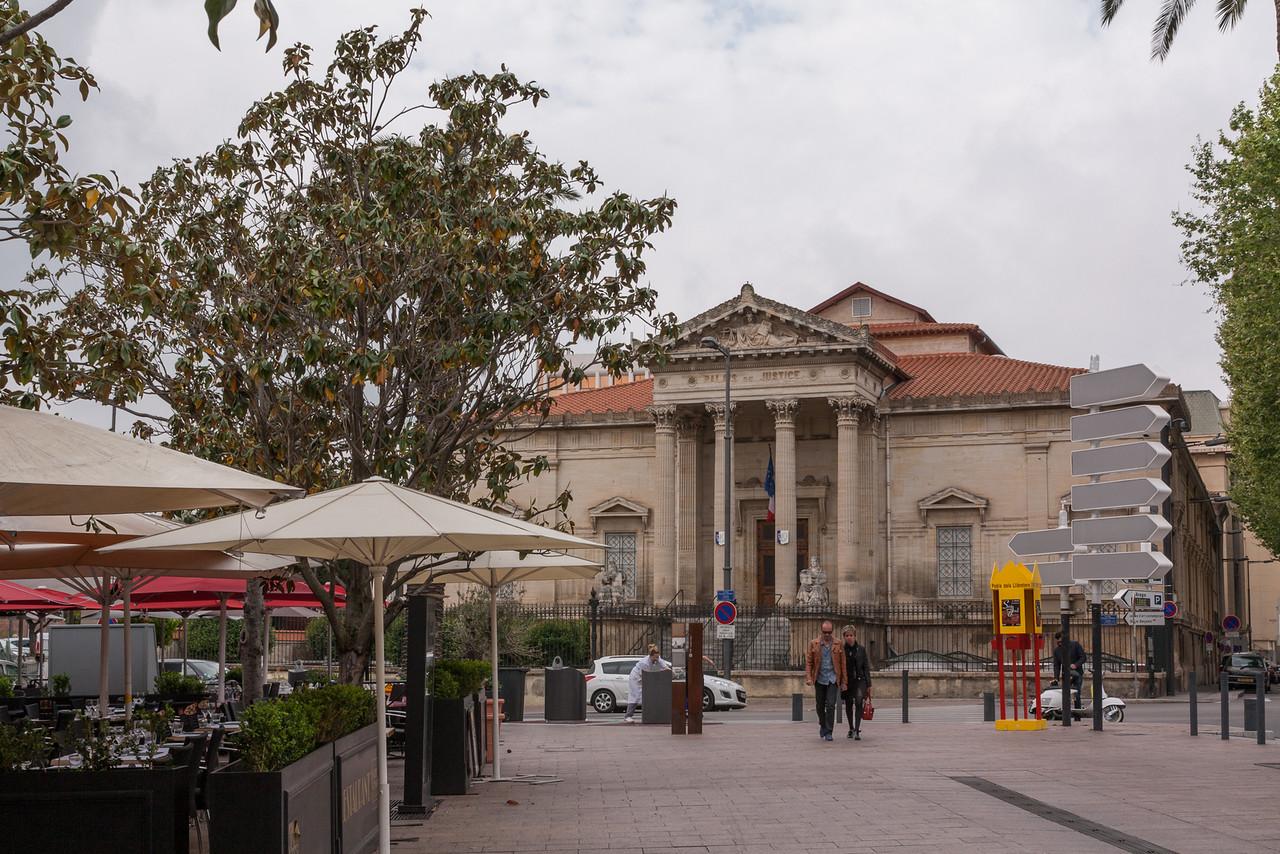 Perpignan, la capital del departamento francés de Pyrénées Orientales