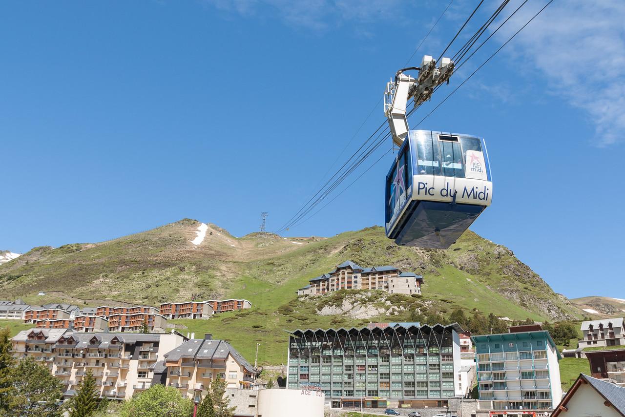 El Tourmalet, el puerto de montaña más famoso de los Pirineos.